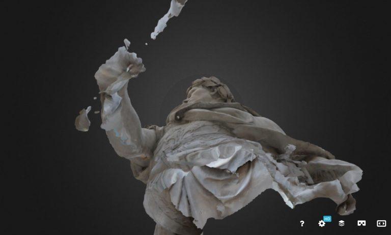 socha ve videu prototyp